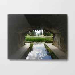 Under Bridge View Metal Print