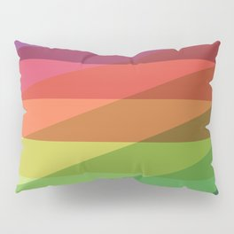 Fig. 040 Rainbow Stripes Pillow Sham