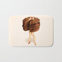 Cake Girl - Chocolate Bath Mat