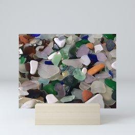 Sea Glass Assortment 6 Mini Art Print