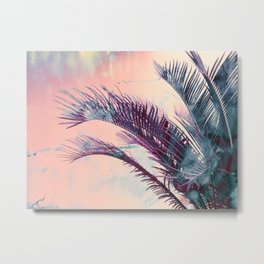Candy Palms Metal Print