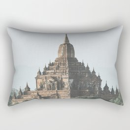 Bagan Temples Rectangular Pillow
