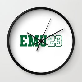 Eastern Michigan Class of 2023 Wall Clock