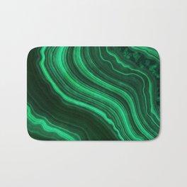 Malachite Texture 08 Bath Mat