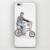 tom selleck iPhone & iPod Skins featuring Tom Selleck by mattdunne