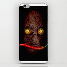 Copperhead mask_092 iPhone Skin