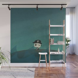 Small Pirate Captain Wall Mural