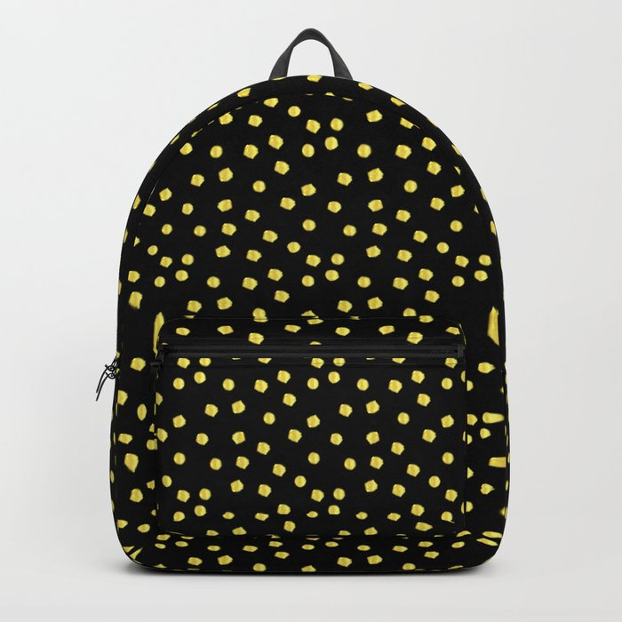 Gold pearls Backpack