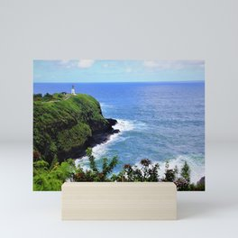 Kilauea Point Lighthouse Kauai by Reay of Light Mini Art Print