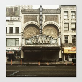 Paramount Theater, Newark Canvas Print