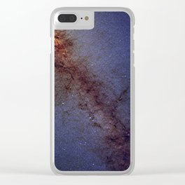 Center of our Milky Way Galaxy Clear iPhone Case