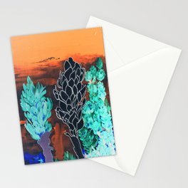 DESERT NIGHT Alpinia Purpurata Stationery Cards