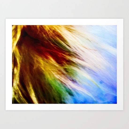 Toodles Goldenhair Art Print