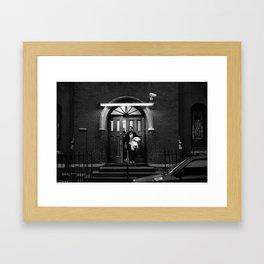 Church Lady Framed Art Print