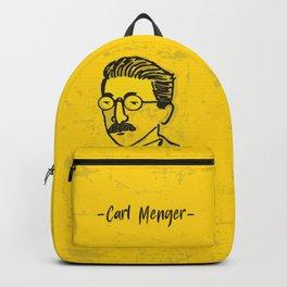 Friedrich Hayek Illustration Backpack