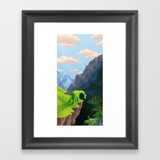 Distant Relatives Framed Art Print