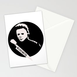 Halloween no lives matter. Stationery Cards