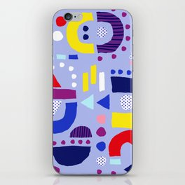 Tiny Inventor - Purple Sailor iPhone Skin