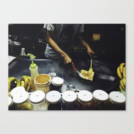 Banana Pankcakes Canvas Print