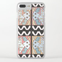 Amigos Clear iPhone Case