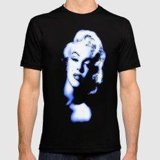 Marilyn Monroe 2 Mens Fitted Tee LARGE Black