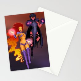 Starfire & Raven Stationery Cards