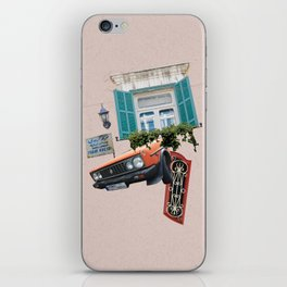 Psychedelic Gemmayzeh - Beirut  iPhone Skin