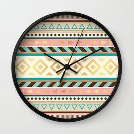 Pattern Tribal Wall Clock