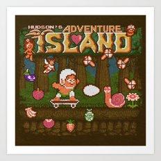 Island Adventure Art Print