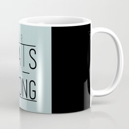 Stats Coffee Mug
