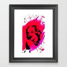 Marilyn Monroe. Framed Art Print