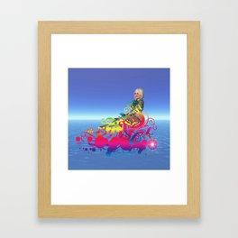New Age Travel Framed Art Print