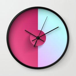 Dribble-Bribble Wall Clock
