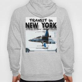 Transit in New york City Hoody