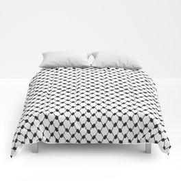 Palestinian koffiyeh Comforters
