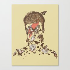 FACES OF GLAM ROCK Canvas Print