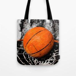 The basketball Tote Bag