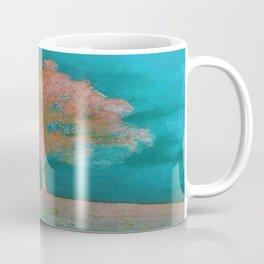 ABSTRACT - solitary tree Coffee Mug