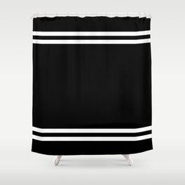 Sporty Stripes Shower Curtain
