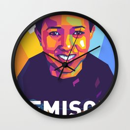Mae Carol Jemison Wall Clock