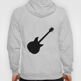 Electric Guitar Silhouette Hoody