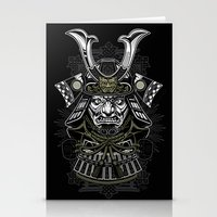 samurai Stationery Cards featuring Samurai by Brewer Arts