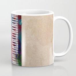 keyboard art #keyboard #piano Coffee Mug