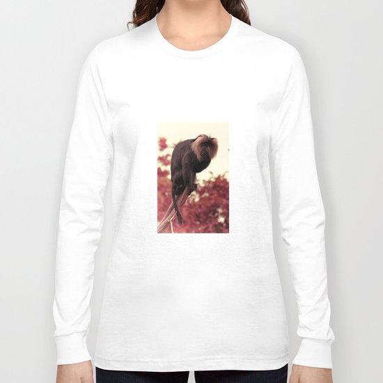 Resting Ape Long Sleeve T-shirt