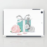 tiffany iPad Cases featuring Tiffany Rose by Pink Geeks