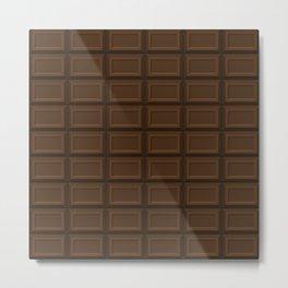 Chocolate Metal Print