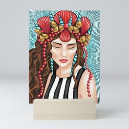 Sea Goddess 3 Mini Art Print