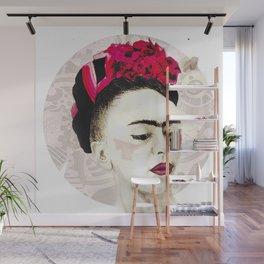 Frida pencil Wall Mural