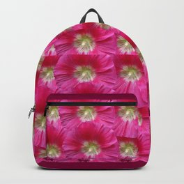 MODERN ART PINK & FUCHSIA FLORAL ART Backpack