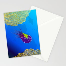 Paper Craft Nautilus Stationery Cards